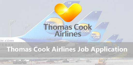 thomas cook airlines job application