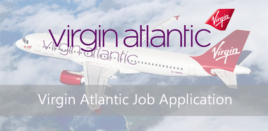 virgin atlantic job application