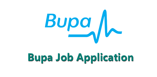 Bupa Job Application