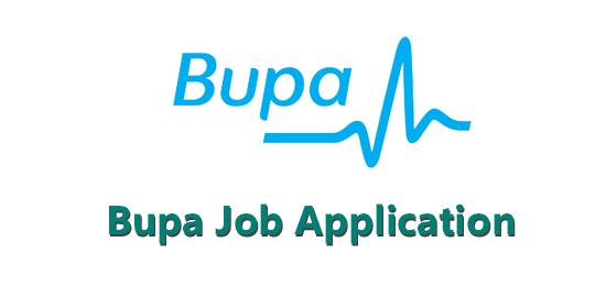 Bupa Job Application