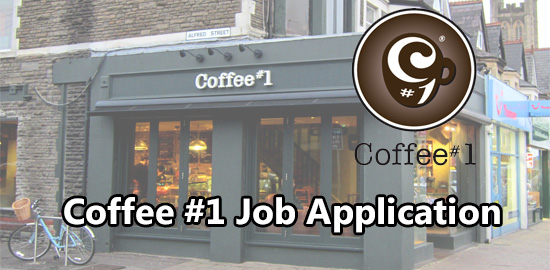 Coffee #1 Job Application