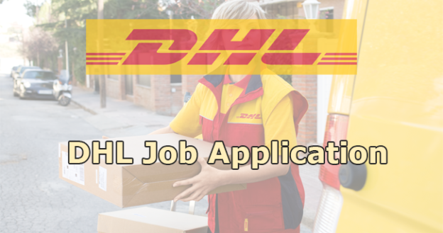 DHL Application Online & PDF 2021