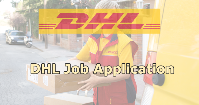 DHL Job Application
