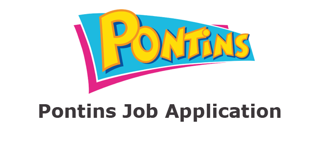 Pontins Job Application