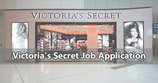Victoria's Secret Job Application