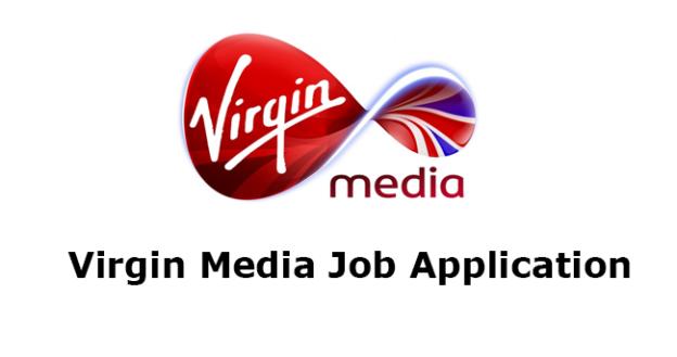Virgin Media Job Application