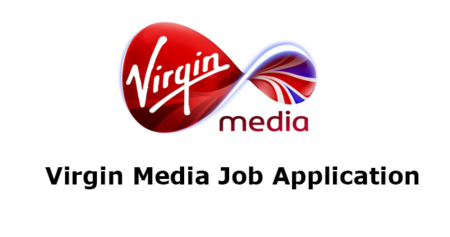Virgin Media Job Application