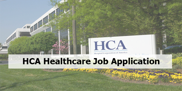 HCA Healthcare Job Application