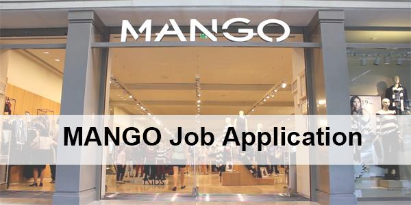 Mango Application Online & PDF 2021