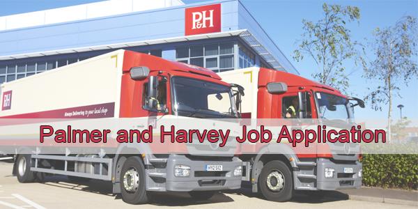 Palmer and Harvey Job Application