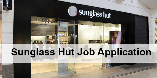 Sunglass Hut Job Application
