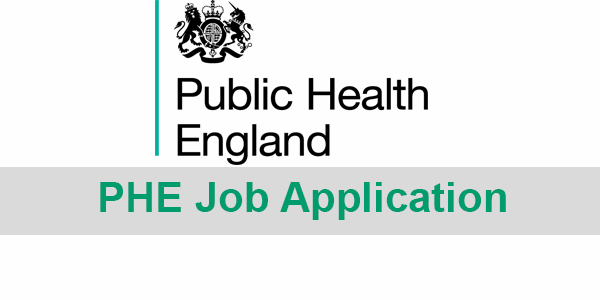 Public Health England Job Application