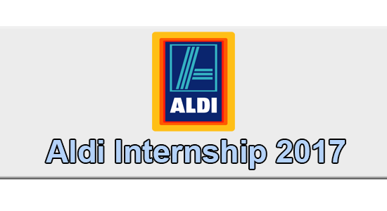 Aldi Internship Application
