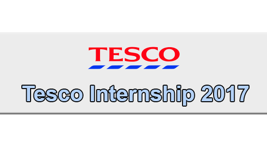 Tesco Internship Application