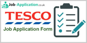 Tesco Job Application Form